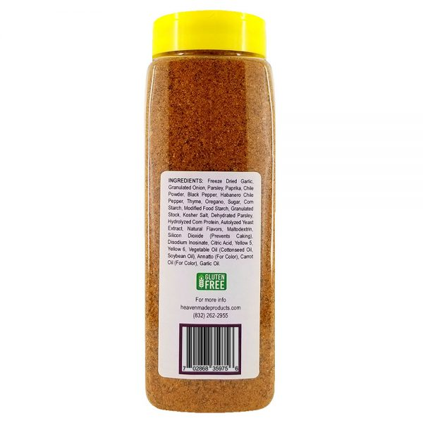 32 oz amazin blazin cajun seasoning information