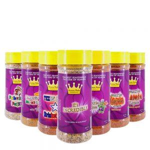 8 oz seasoning sampler pack