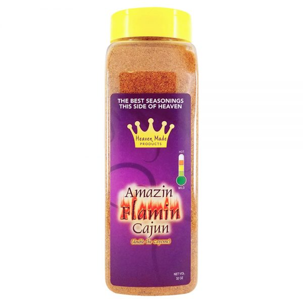 32 oz amazin flamin cajun seasoning
