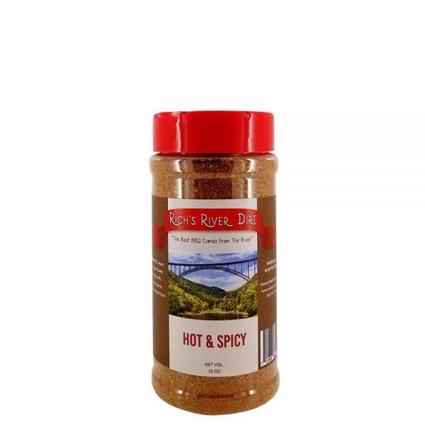 16 oz hot spicy seasoning