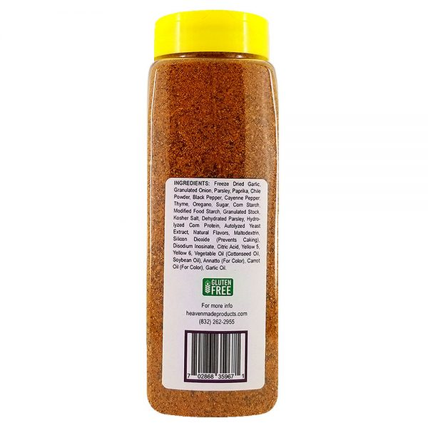 32 oz amazin cajun seasoning information