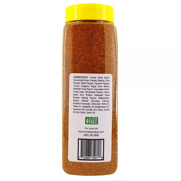 32 oz amazin flamin cajun seasoning information