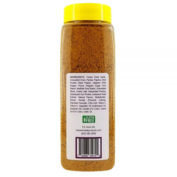 32 oz amazin mexicajun seasoning information