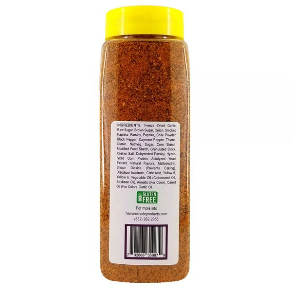 32 oz brisket rub seasoning information