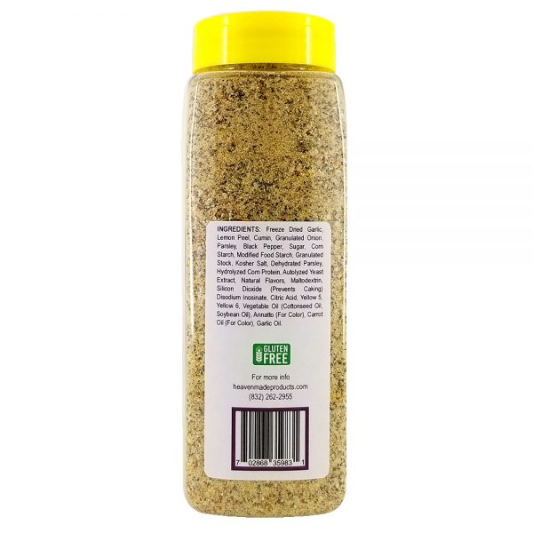 32 oz fabulous fajita seasoning information