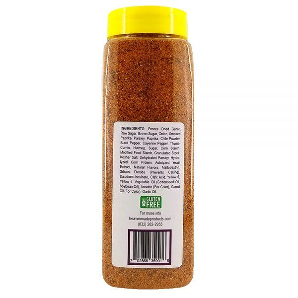 32 oz rib rub seasoning information