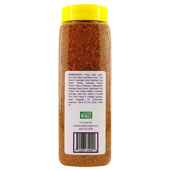 32 oz smoky habanero seasoning information