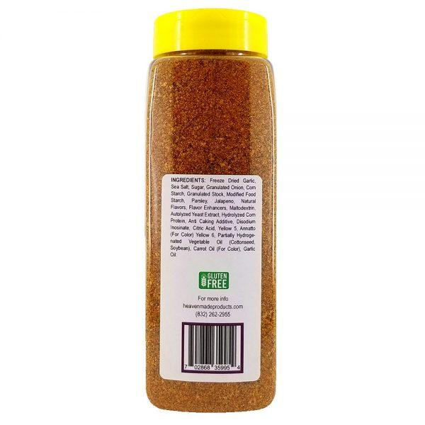 32 oz smoky jalapeno seasoning information