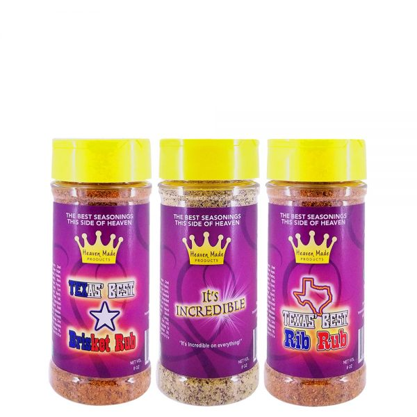 8 oz seasonings bbq pack